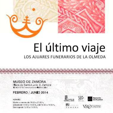 Cartel de la exposición El último viaje
