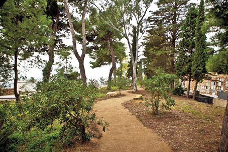 Cementerio Montjuïc_Jardín de la Mediterranea