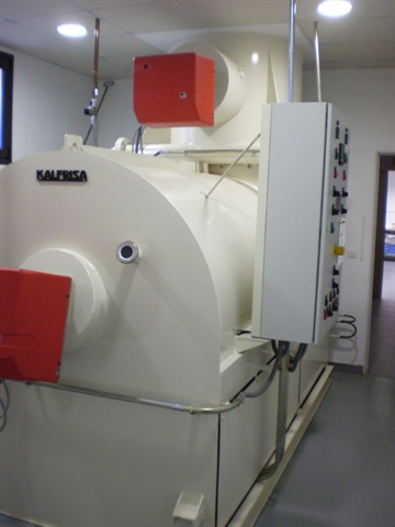 Horno crematorio instalado por Kalfrisa en Benavente