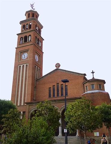 Parroquia de Santa Eulàlia de Mérida de L'Hospitalet de Llobregat (Barcelona)