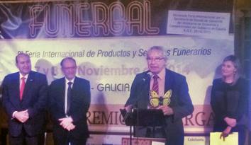 Premio Mejor Directivo Funergal 2014