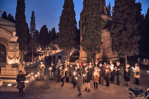 Ruta nocturna Cementerio Montjuïc 2013_1
