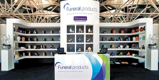 Stand de Funeral Products en Tanexpo 2012