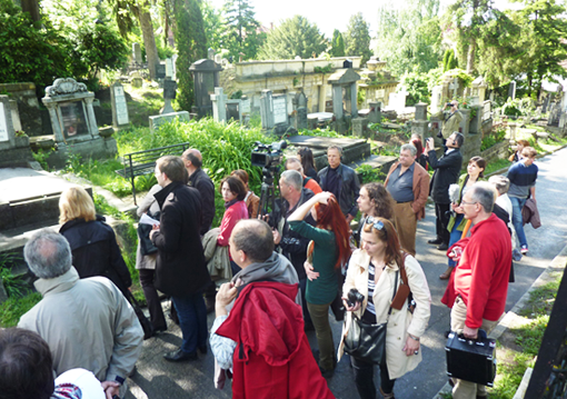 Visita al Cementerio de Cluj Napoca