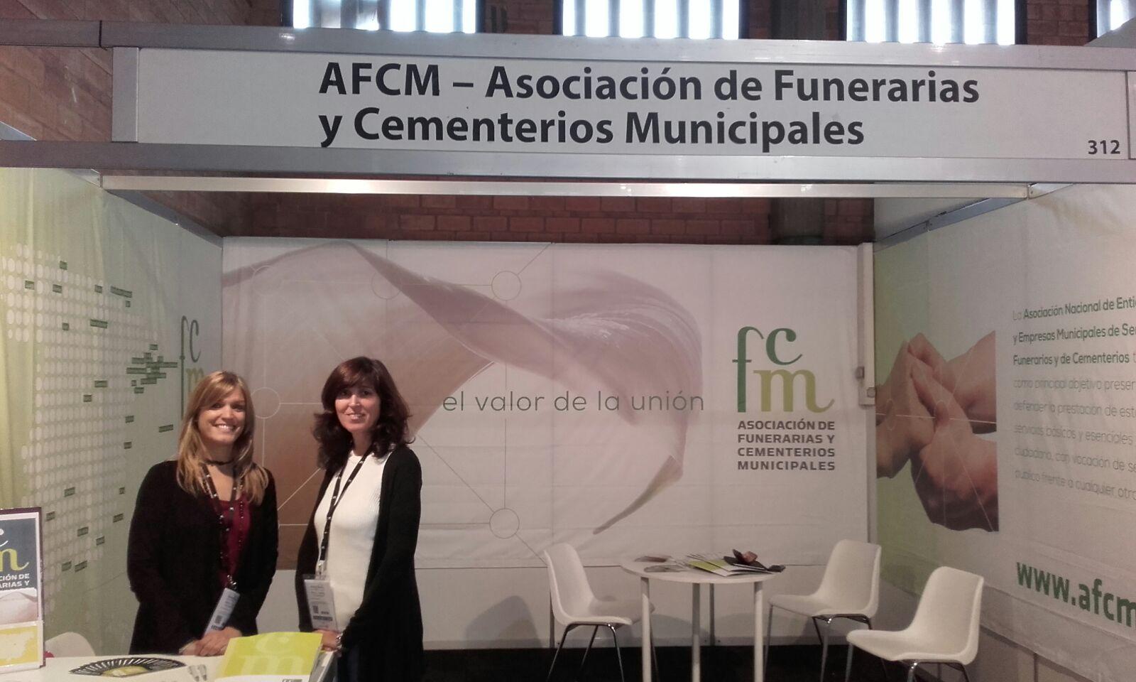 Stand de la AFCM en Municipàlia 2015